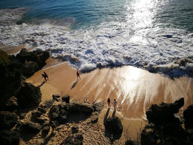 Nema mnogo kupanja na Baliju.